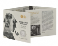 2019 Sherlock Holmes Brilliant Uncirculated coin and Folder
